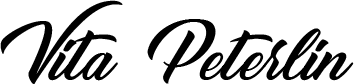 Vita Peterlin | Official Website